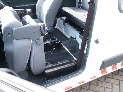 Although The Side Panel Of Van Looks As Though It Can Be Replaced With A Single Window Inside Bracing Structure Means Has To Split