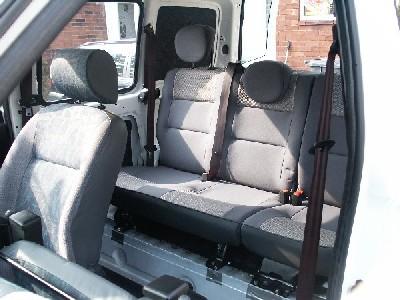 Rear Seat Window Conversion