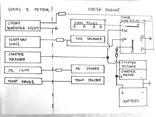 W123 Glow Plug Wiring Diagram Diagram Base Website Wiring